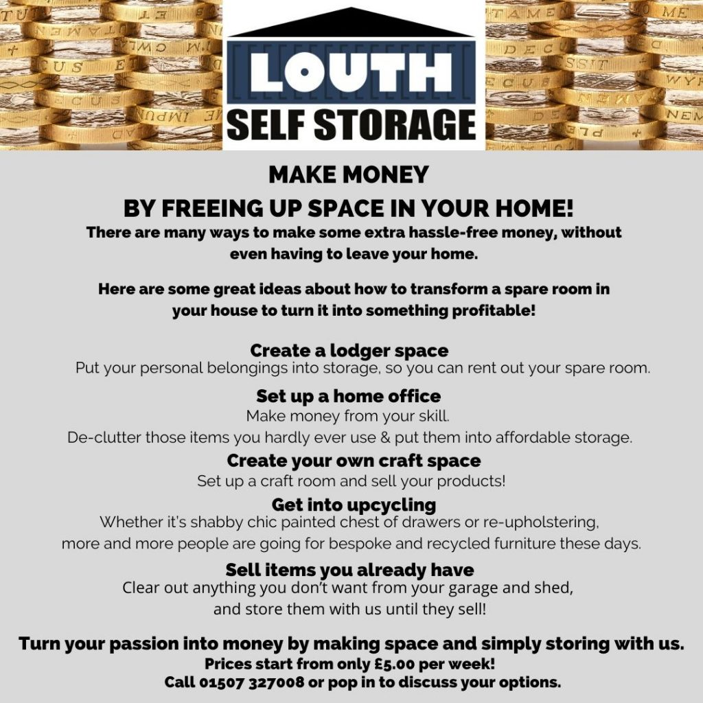 make money with self storage