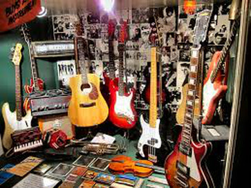 guitars and other items for hobbies