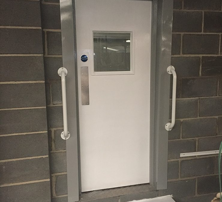fire door at Louth Self Storage