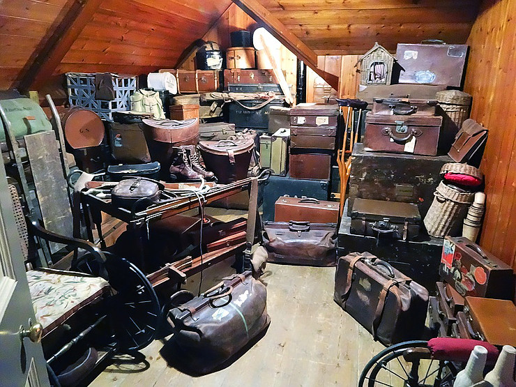 collectable items for storage