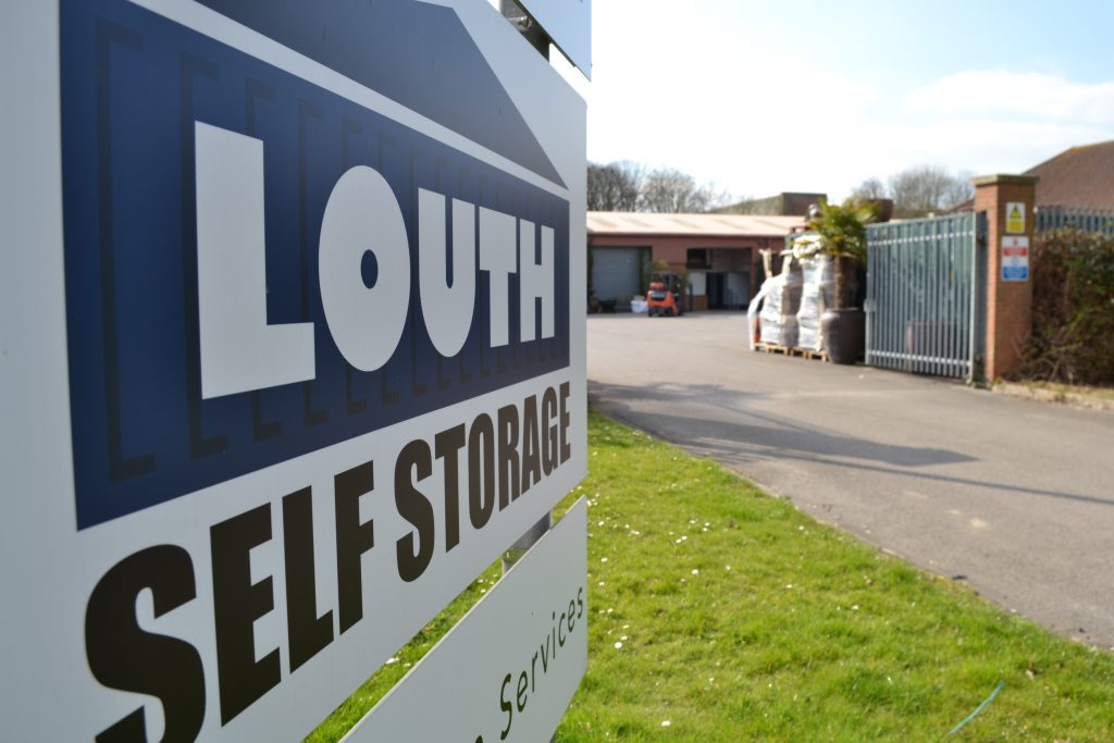 Louth Self Storage sign