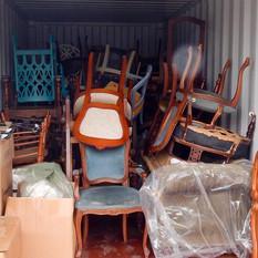 business equipment in storage
